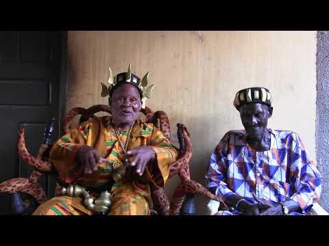 COTE D' IVOIRE: GBADJE FESTIVAL - INTERVIEW  DES CHEFS DE TERRE DE BAROUHIO