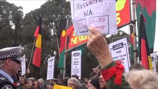 Undeclared Frontier Wars - ANZAC Day March 2014