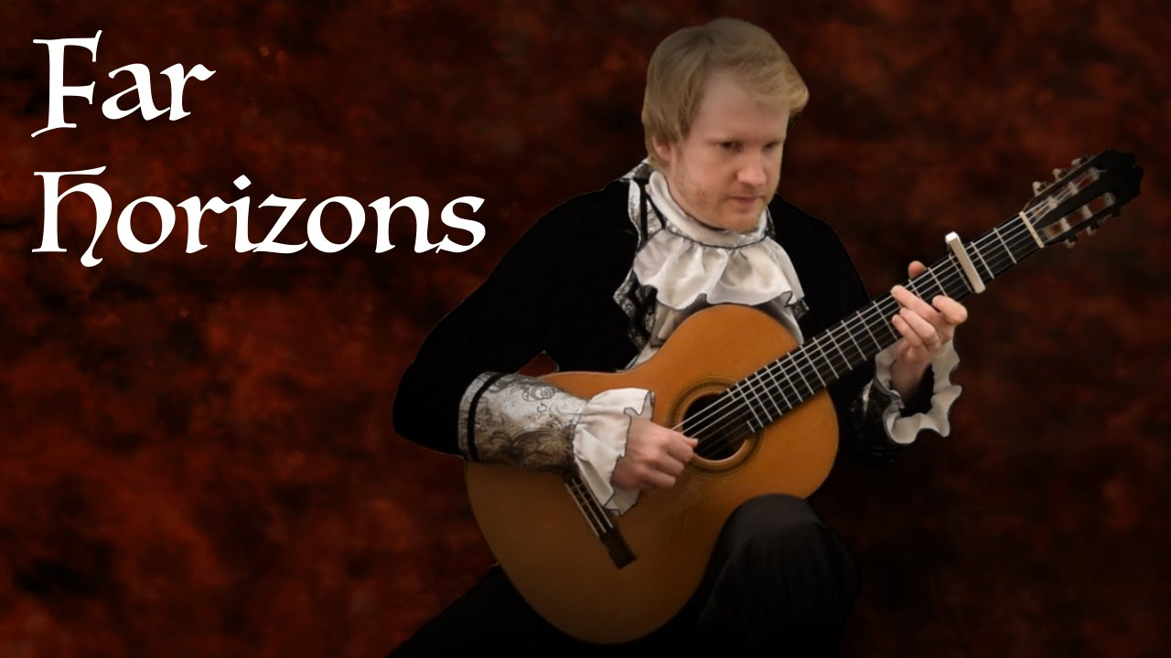 The Elder Scrolls V: Skyrim – Far Horizons  (Acoustic Classical Guitar Cover by Jonas Lefvert)