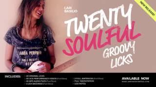 Video Lari Basilio's 20 Soulful Groovy Licks! | JTCGuitar.com MP3, 3GP, MP4, WEBM, AVI, FLV Maret 2019