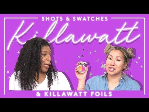 *New* SHOTS & SWATCHES: KILLAWATT + KILLAWATT FOILS | FENTY BEAUTY