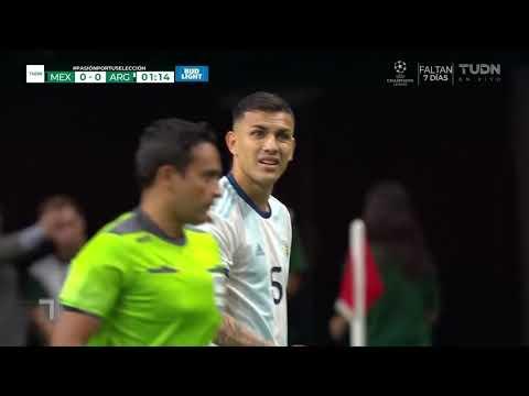 Mexico v. Argentina - Amistoso Internacional 2019