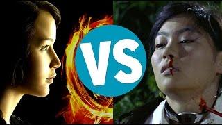 Video The Hunger Games vs Battle Royale MP3, 3GP, MP4, WEBM, AVI, FLV September 2018