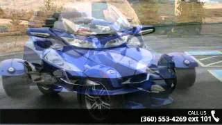 6. 2012 Can-Am Spyder RT Audio & Convenience SE5  - Life...