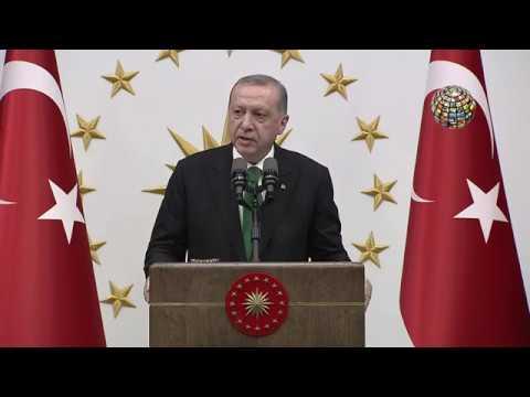 Erdoğan zor günler geçiren Türkiye için bunları söyledi! (видео)