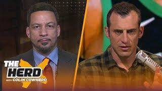 Chris Broussard: Kyrie and KD to Knicks is a 'dream scenario', talks NBA MVP race | NBA | THE HERD