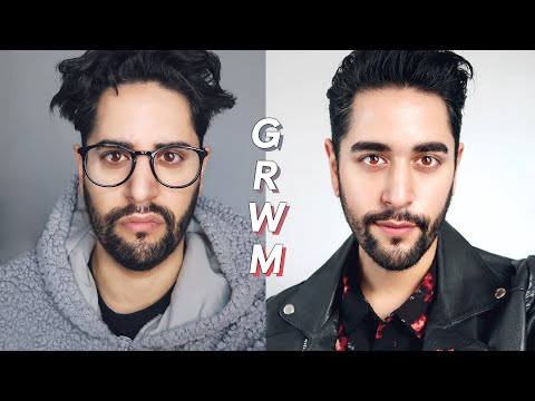 Mens hairstyles - GET READY WITH ME - Men's Skincare Routine, Hair Style 2018, Men's Outfit Inspiration   James Welsh
