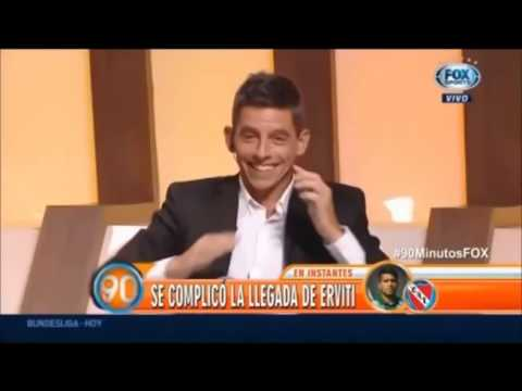 Juan Fernandez Se Caga, Se Tira Pedo En Vivo TV FOX SPORTS