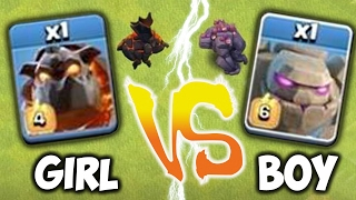 Video WHO IS STRONGER!?!🔸BOY vs. GIRL GENDER WAR🔸Clash Of Clans MP3, 3GP, MP4, WEBM, AVI, FLV Mei 2017
