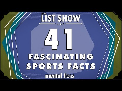 41 Fascinating Sports Facts