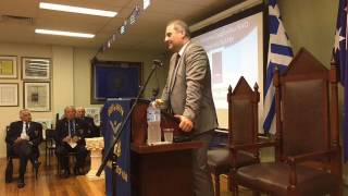 Video: The Role of the American Hellenic Institute by Mr Nicholas Larigakis (10/04/17)