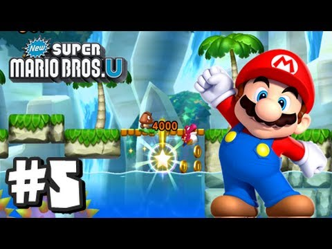 New Super Mario Bros U Wii U - Part 5 World 4