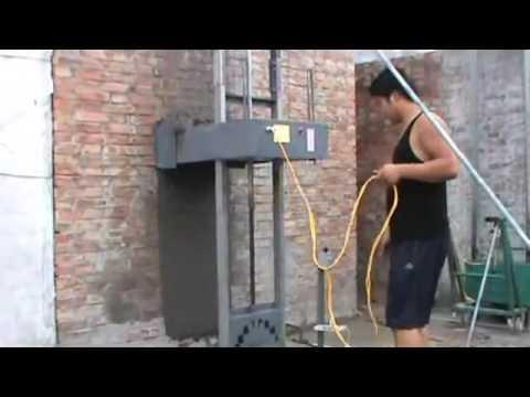 Máy trát tường phẳng tự động