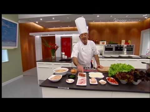 Karlos Arguiñano en tu cocina: Hamburguesas de garbanzo con ensalada