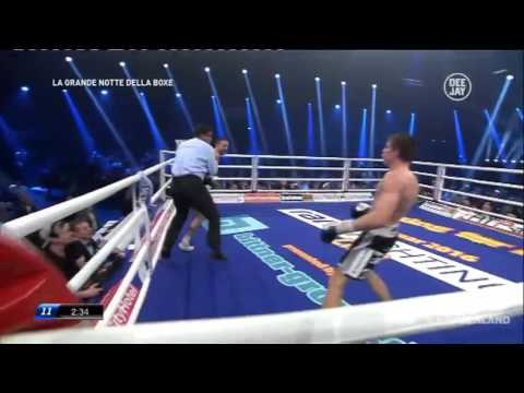 giovanni de carolis vs vincent feigenbutz ii - highlights knockout