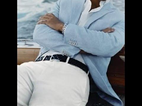 Ideas para vestir Casual. Hombres Tips para usar blanco!! Miami/Fashion/Moda