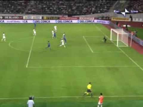 Italia 2 - 0 Georgia, clasificación de Italia al Mundial de Sudáfrica 2010