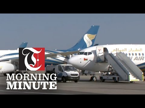 Oman Air flight 635 burst two of its tyres upon landing at Abu Dhabi International Airport