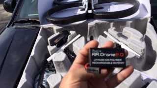 My new toy. The AR Drone 2.0 Elite Edition.