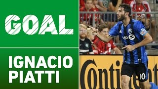 GOAL: Ignacio Piatti puts away Matteo Mancosu's centering pass by Major League Soccer