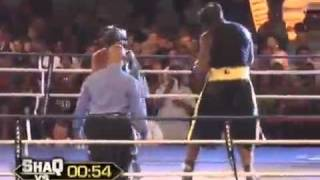 Shaquille  O'Neal vs Shane Mosley