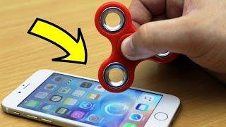 Video EXPERIMENT iPhone vs FIDGET SPINNER (48,069 RPM) MP3, 3GP, MP4, WEBM, AVI, FLV Februari 2018