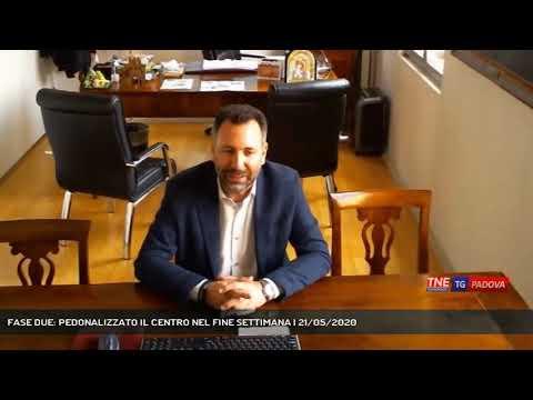 FASE DUE: PEDONALIZZATO IL CENTRO NEL FINE SETTIMANA   21/05/2020