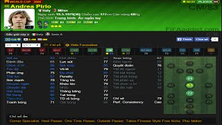 Fifa online 3 - Review Andrea Pirlo WC06, fifa online 3, fo3, video fifa online 3