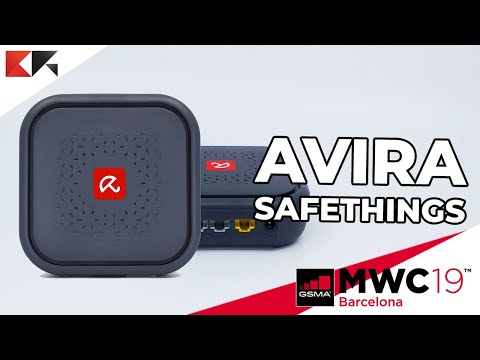 AVIRA SafeThings, sicurezza per smart home e IoT (Internet of Things) - MWC 2019