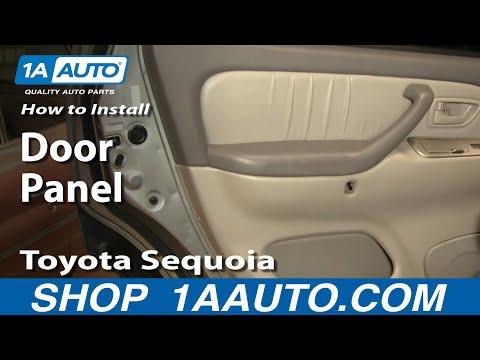How To Install Replace Remove Door Panel Toyota Sequoia 01-04 1AAuto.com