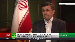 Ahmadinejad: West wants Syrian crisis to spread, aims to re-shape Mideast (RT Exclusive)