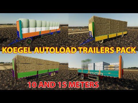 Kogel Autoloader SemiTrailer 15m FS19 v1.0