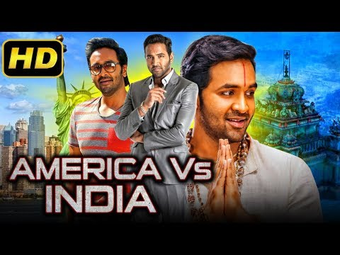 America Vs India 2 (2019) Telugu Hindi Dubbed Full Movie | Vishnu Manchu, Brahmanandam