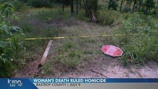Gunshot killed Cedar Creek woman, not crash in Bastrop County