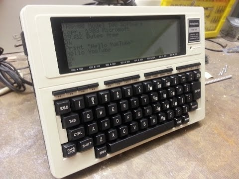Tandy TRS-80 Model 100 Quick Overview