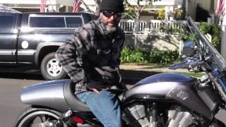 9. Bitchin Seats V Rod Muscle Cafe Fender Kit
