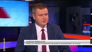 """Włodzimierz Czarzasty do posła PiS Marcina Porzucka: """"Wyjdziemy z tego studia, to po prostu Panu przywalę"""""""