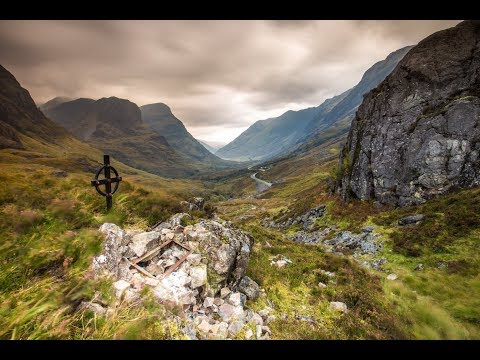 Photography at Glencoe and the Harry Potter Train in Scotland (видео)