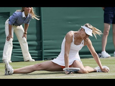 Falls - Just a compilation of tennis falls and injuries of the recent years MUSIC ENDS AT 8:33 watch my other video Serena Williams FURIOUS with the time violation L...
