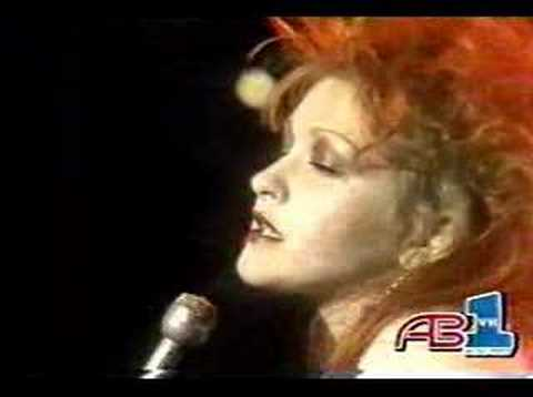 "Cyndi Lauper ""Time After Time"""