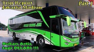 Video BUKAN ARTIS TAPI PELARI !!! Trip Report Sudiro Tungga Jaya Jakarta-Madiun Part 1 MP3, 3GP, MP4, WEBM, AVI, FLV Juni 2018