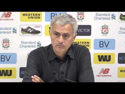 Liverpool 0-0 Manchester United - Jose Mourinho Full Post Match Press Conference - Premier League (видео)