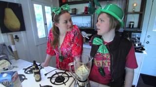 My Drunk Kitchen: SHAMROCK SHAKE!