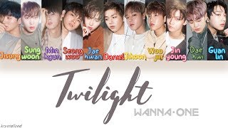 Video Wanna One (워너원) - Twilight [HAN|ROM|ENG Color Coded Lyrics] MP3, 3GP, MP4, WEBM, AVI, FLV Juli 2018