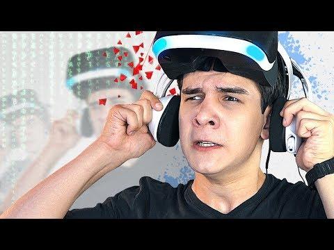 СИМУЛЯТОР в СИМУЛЯТОРЕ в PlayStation VR! (Super Hot)