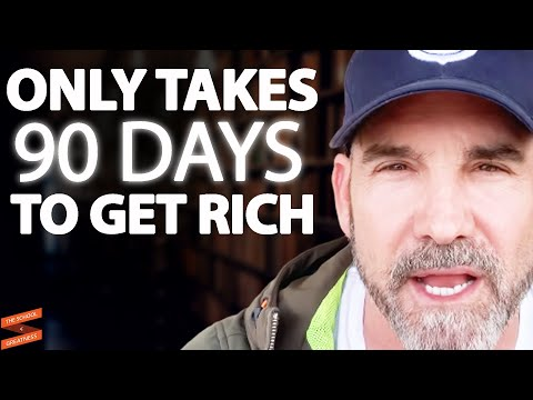 """""""How I Went From BROKE To MILLIONAIRE In 90 Days!""""   Grant Cardone & Lewis Howes"""
