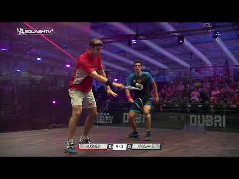 Squash tips: Jesse Engelbrecht - Hold the ball from the front of the court