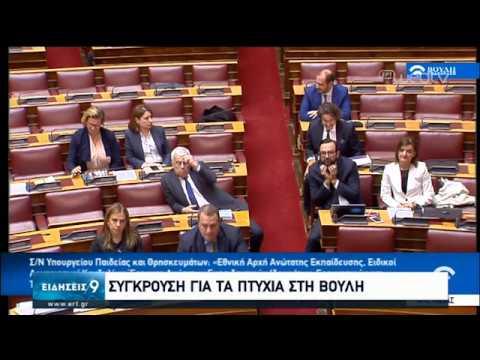 Σύγκρουση για τα πτυχία στη Βουλή | 21/01/2020 | ΕΡΤ