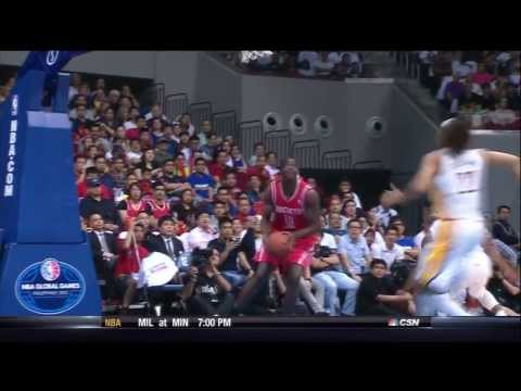 Ronnie Brewer - And1 Fast Break Reversal vs Pacers