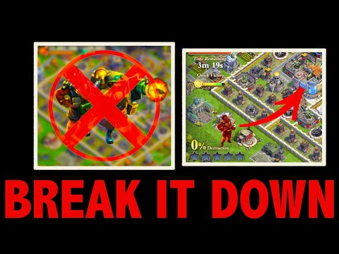 BREAK IT DOWN: Attacking Bases that COUNTER You | Commandos and Bazookas | DomiNations